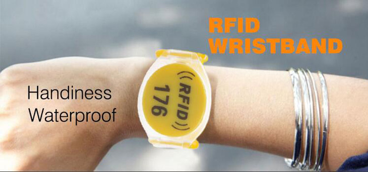 Waterproof RFID Plastic Wristband