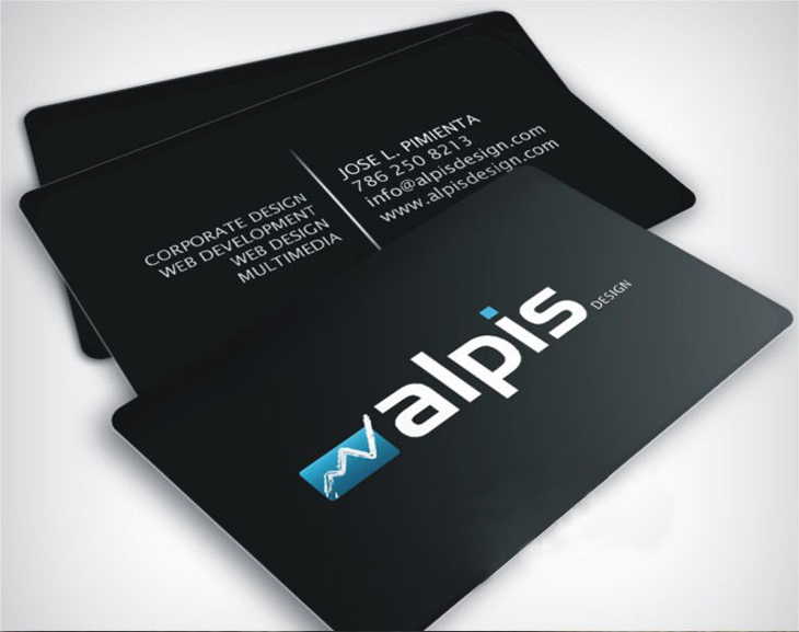 Customized Professional Business Cards