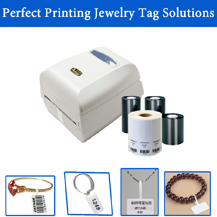 RFID Barcode Jewelry lable