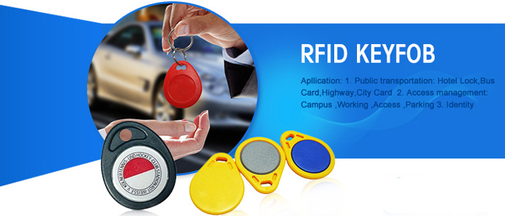 125KHZ RFID Key Fob Application