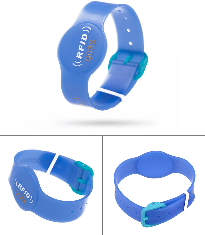 PVC Wristbands wirth LOGO