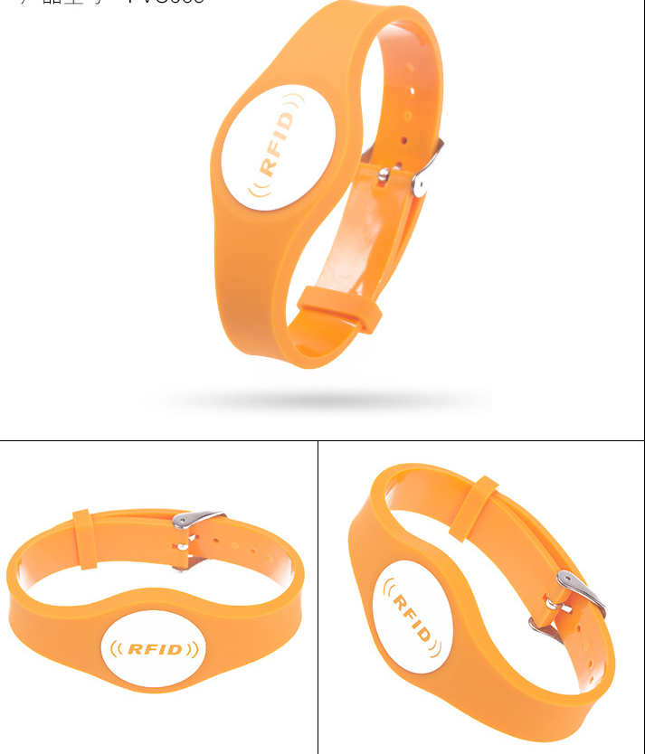 Adjustable Pvc Wristband