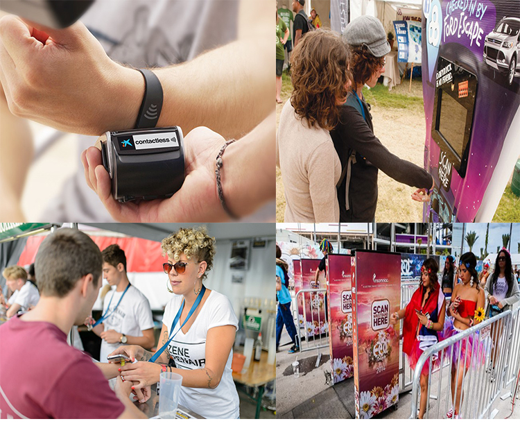 rfid wristbands application