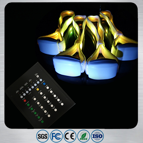 RFID LED Nylon Wristband Remote Control