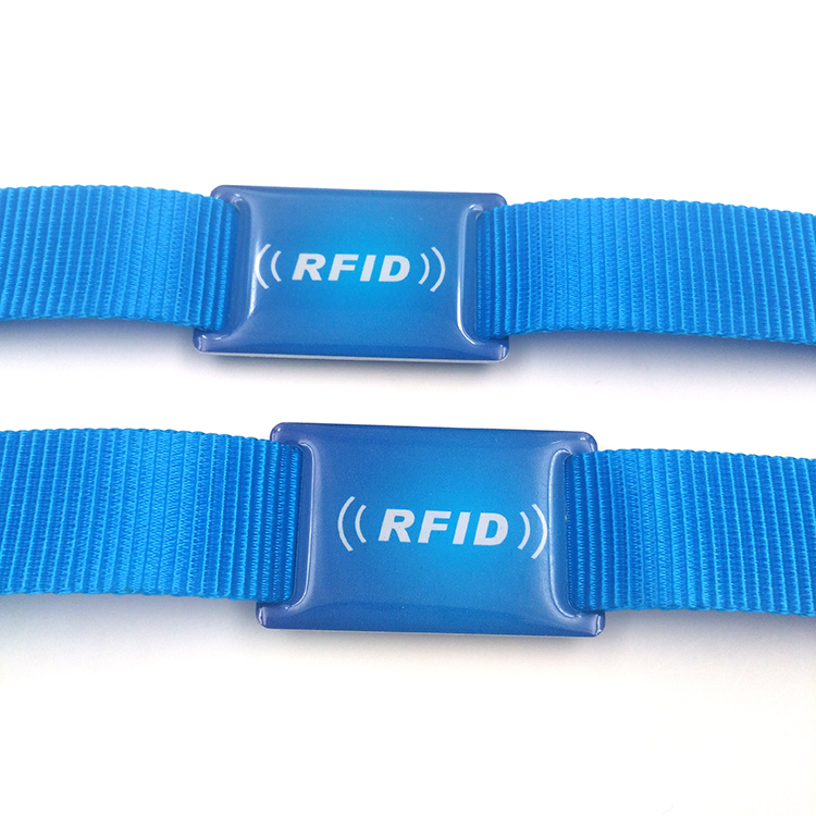 Rfid Events Fabric Bracelet