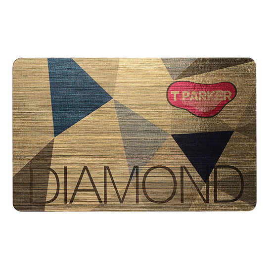 Customized Loyalty Diamond Card