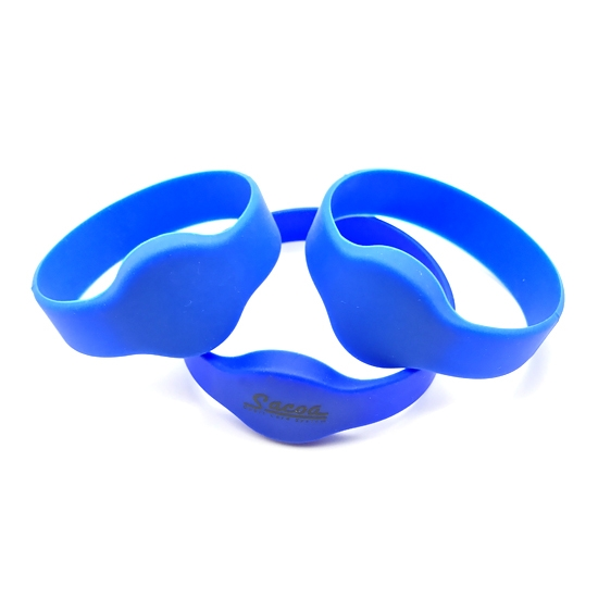Printable Silicone RFID Party Wristbands For Events