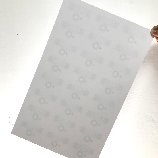Dual Frequency Rfid Inlay Sheet