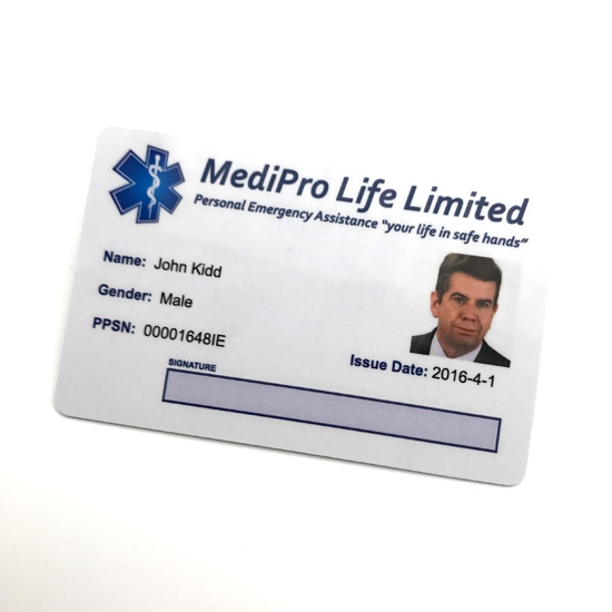 Security Printing Plastic Photo ID Card