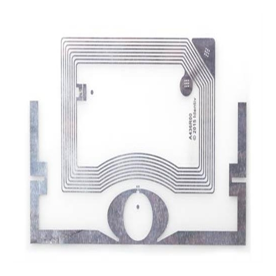 Doble frecuencia RFID Inlay